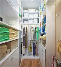 дизайн гардеробной в маленькой квартире