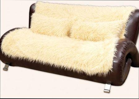 Недорогие накидки на диван и кресла