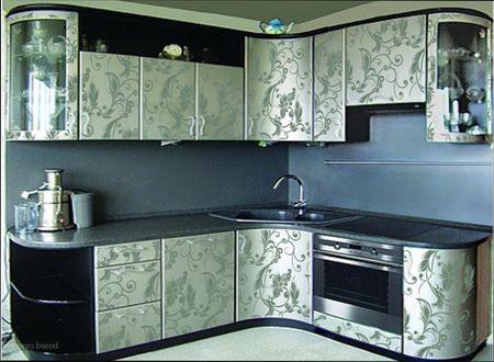 обновить дверцы кухонного гарнитура