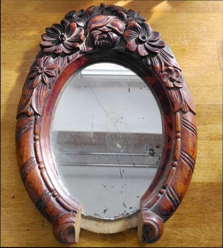 как отреставрировать зеркало