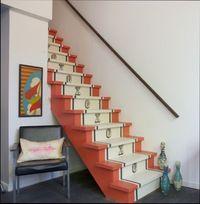 декор лестницы на второй этаж