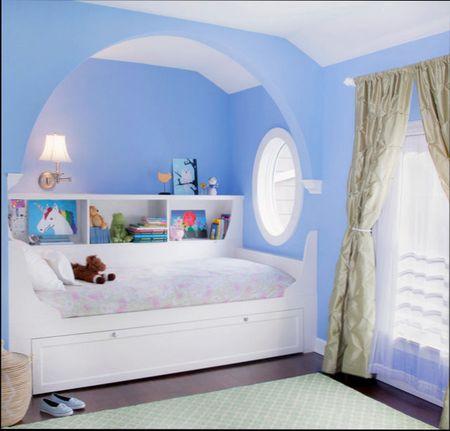 Ниша в стене для кровати