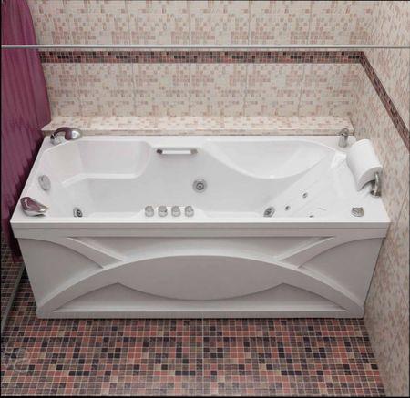 виды экрана для ванной