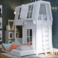 домики кровати для детей в квартиру
