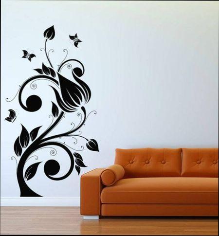 Трафареты для декора стен своими руками шаблоны