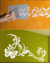 трафареты для декора под покраску