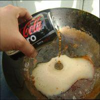 использование кока –колы в быту