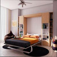 стол-кровать трансформер в малогабаритной квартире