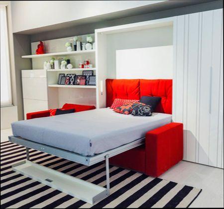 Кровать трансформер в малогабаритной квартире
