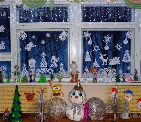 идеи по украшению детской на Новый год