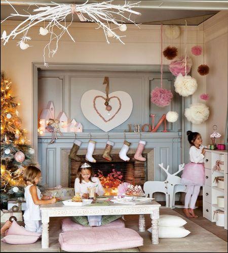 как украсить детскую комнату на Новый год