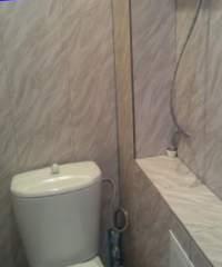 ПВХ панели в отделке туалетной комнаты