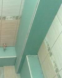 Короб для труб в ванной комнате