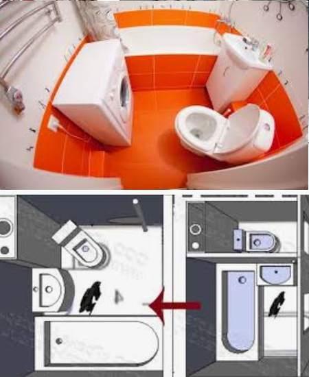 Совмещение ванны и туалета